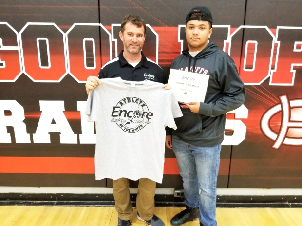 Isaiah Green is Athlete of the Month for Good Hope High School and Encore Rehabilitation-Cullman
