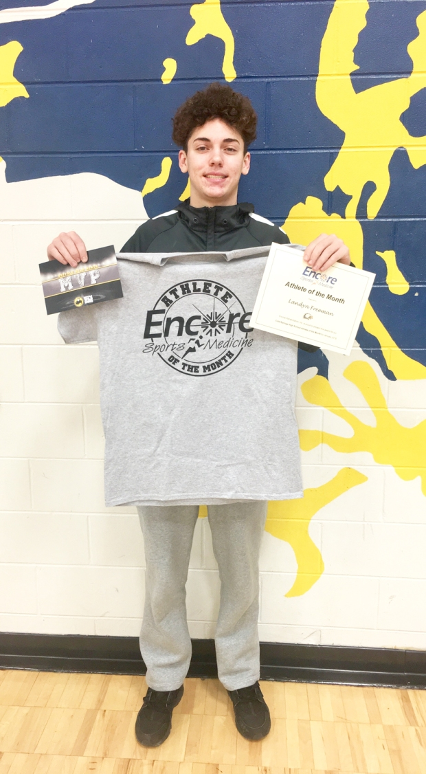 Landyn Freeman is the January Athlete of the Month for Cold Springs High School and Encore Rehabilitation-Cullman #EncoreRehab
