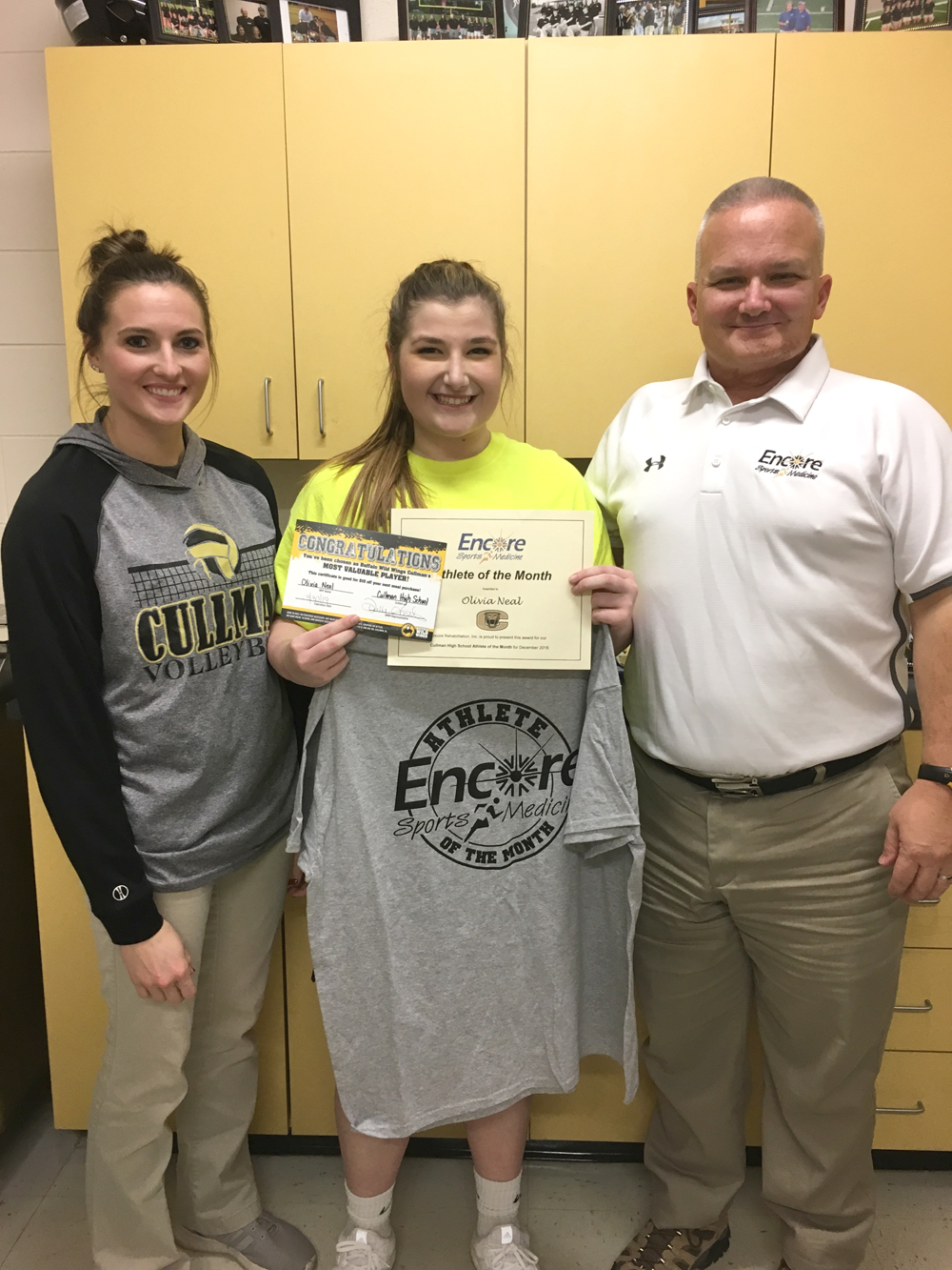 Oliva Neal is Athlete of the Month for Cullman High School and Encore Rehabilitation-Cullman #EncoreRehab