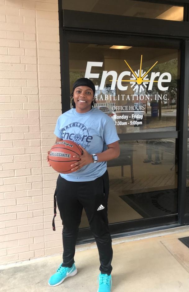 Shay Johnson is Athlete of the Month for Encore Rehabilitation-Enterprise #EncoreRehab