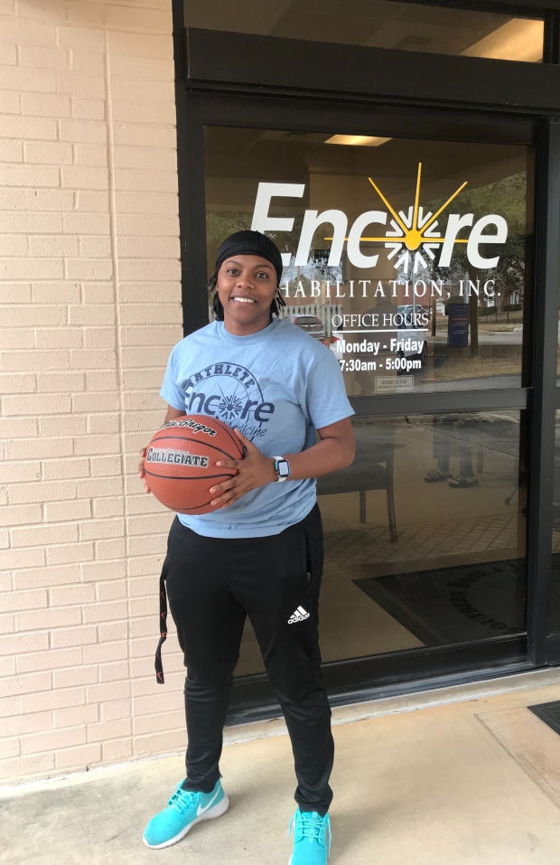 Shay Johnson is Athlete of the Month for Encore Rehabilitation-Enterprise #EncoreRehab