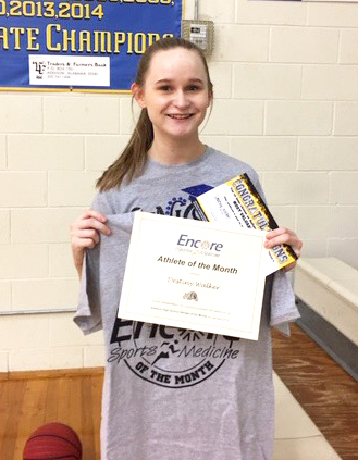 Destiny Walker is Athlete of the Month for Addison High School and Encore Rehabilitation-Cullman #EncoreRehab