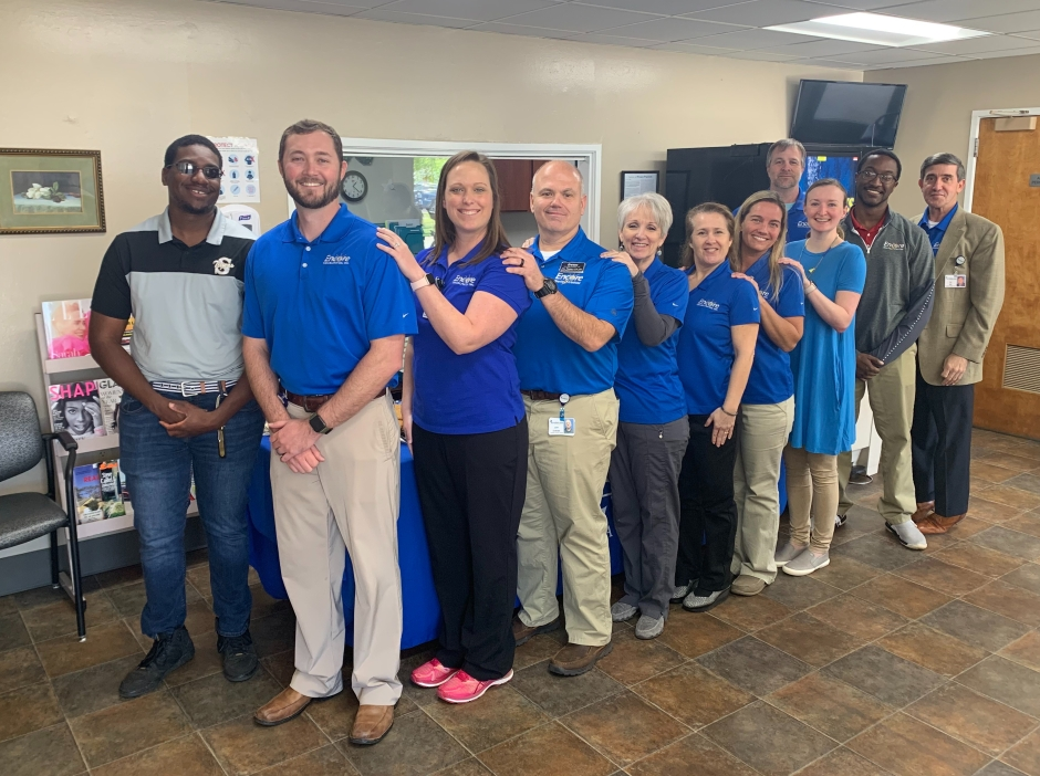 Encore Rehabilitation-Andalusia holds open house and ribbon cutting in new location #EncoreRehab