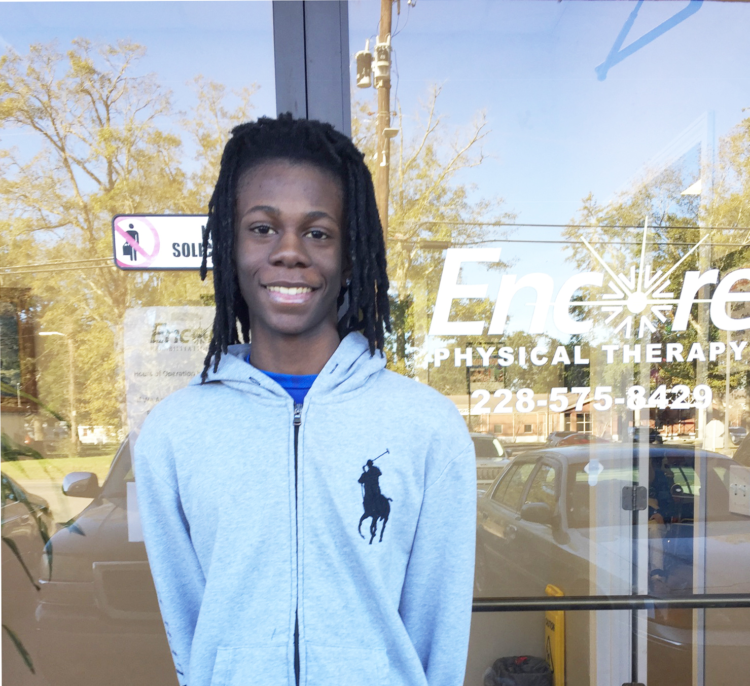 Na'Sean Coleman is Athlete of the Month for Encore Rehabilitation-Long Beach