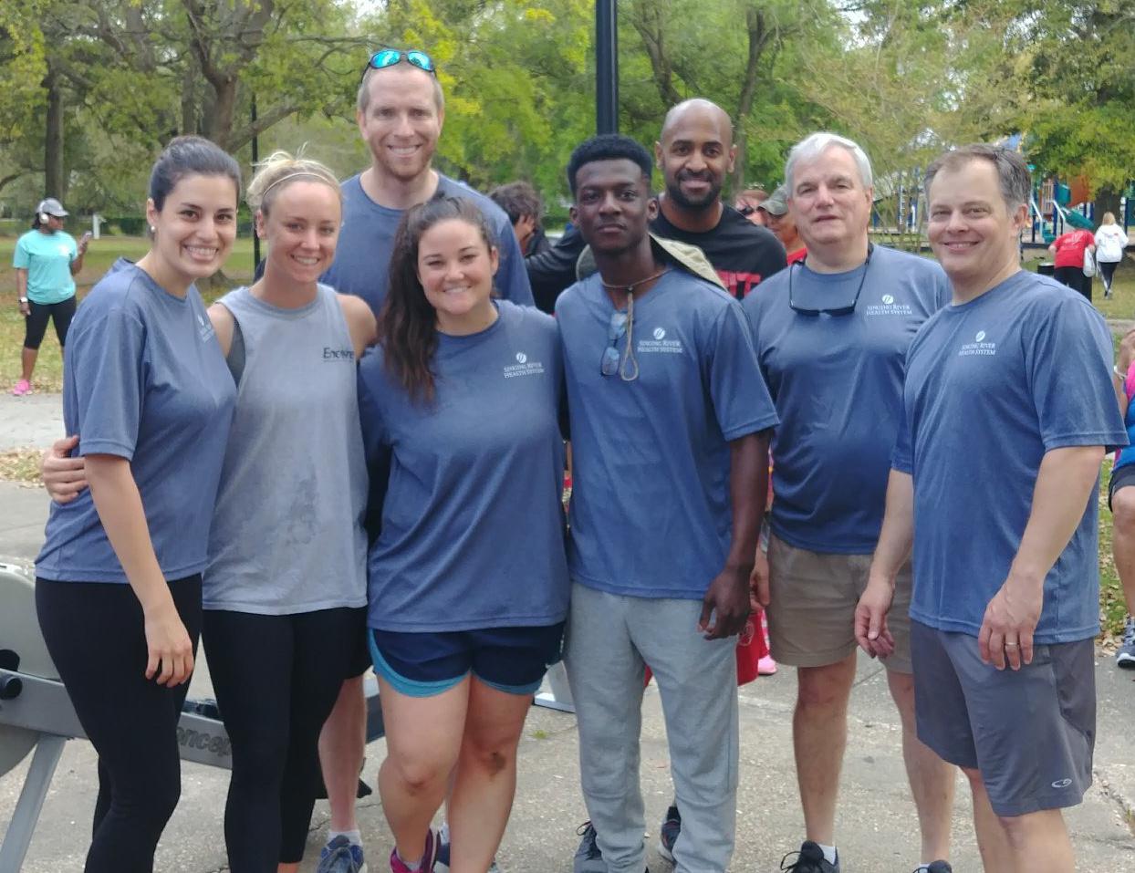 Encore Rehabilitation-Ocean Springs Neurological Vestibular Rehab at the Heart Walk #EncoreRehab