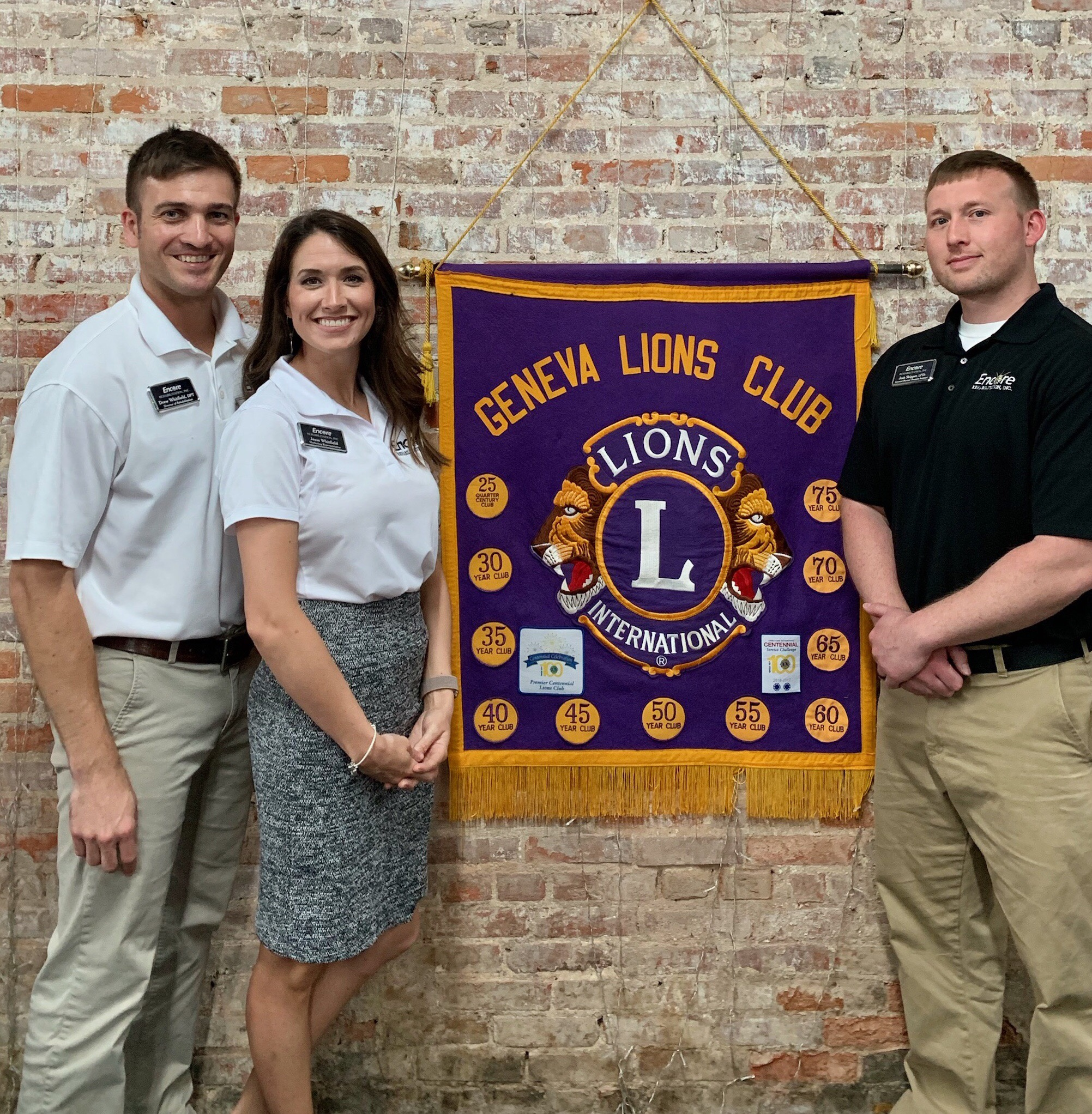 Geneva Staff at Lions club April 2019
