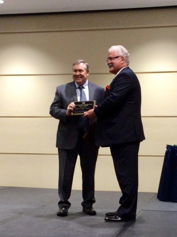 Encore Rehabilitation President and Co-founder Paul Henderson, PT, is inducted into the University of South Alabama Pat Capps Covey College of Allied Health Professions Hall of Fame by Dean Gregory Frazer #EncoreRehab