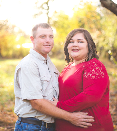 Encore Rehabilitation-Cullman Certified Occupational Therapy Assistant Leslie Perry with her husband, Troy #EncoreRehab
