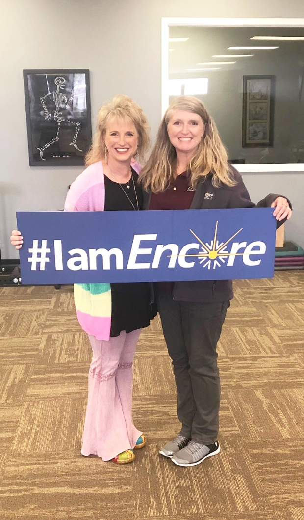 Rachel Taylor is Patient of the Month for Encore Rehabilitation-Fayette #EncoreRehab