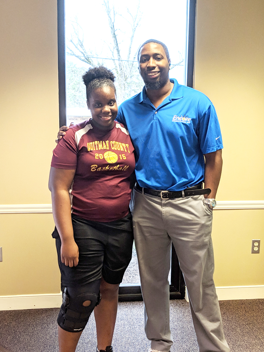 Ty'Zairea Ceaser is Athlete of the Month for Encore Rehaiblitaiton-Eufaula #EncoreRehab