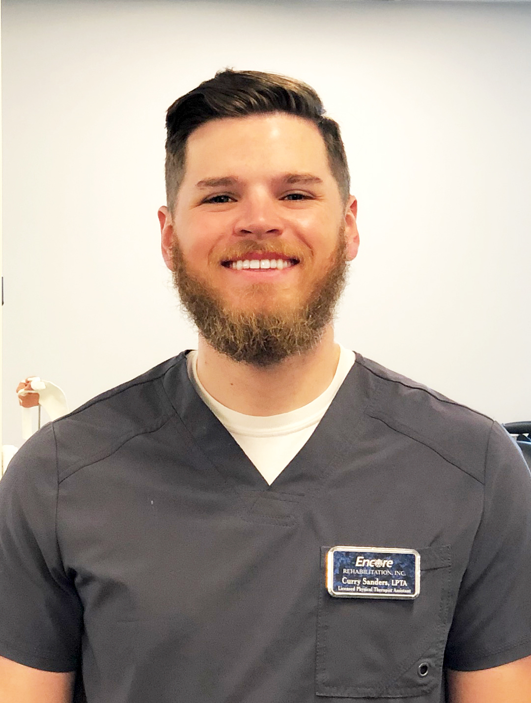 Licensed Physical Therapist Assistant Curry Sanders with Encore Rehabilitation-Fairhope #EncoreRehab