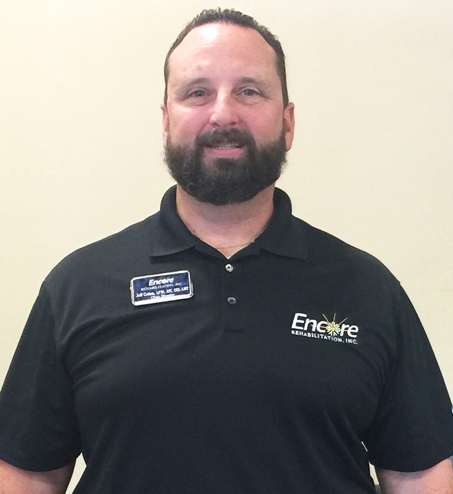 Meet Jeff Cotten, LPTA, ATC, CES, LMT with Encore Rehabiltiation-Montgomery East #EncoreRehab