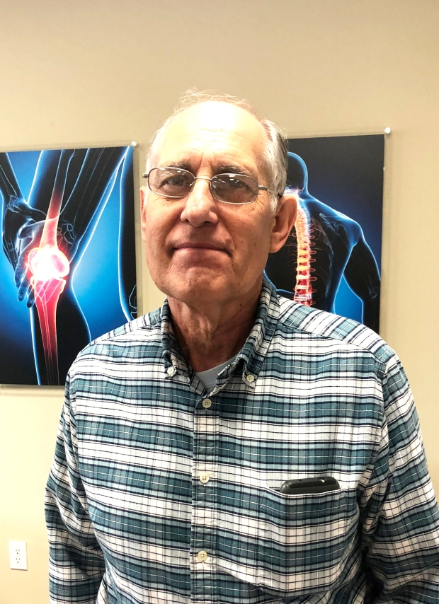 Jerry Sturm chose Encore Rehabilitation-Columbiana for his rehab after his knee replacement