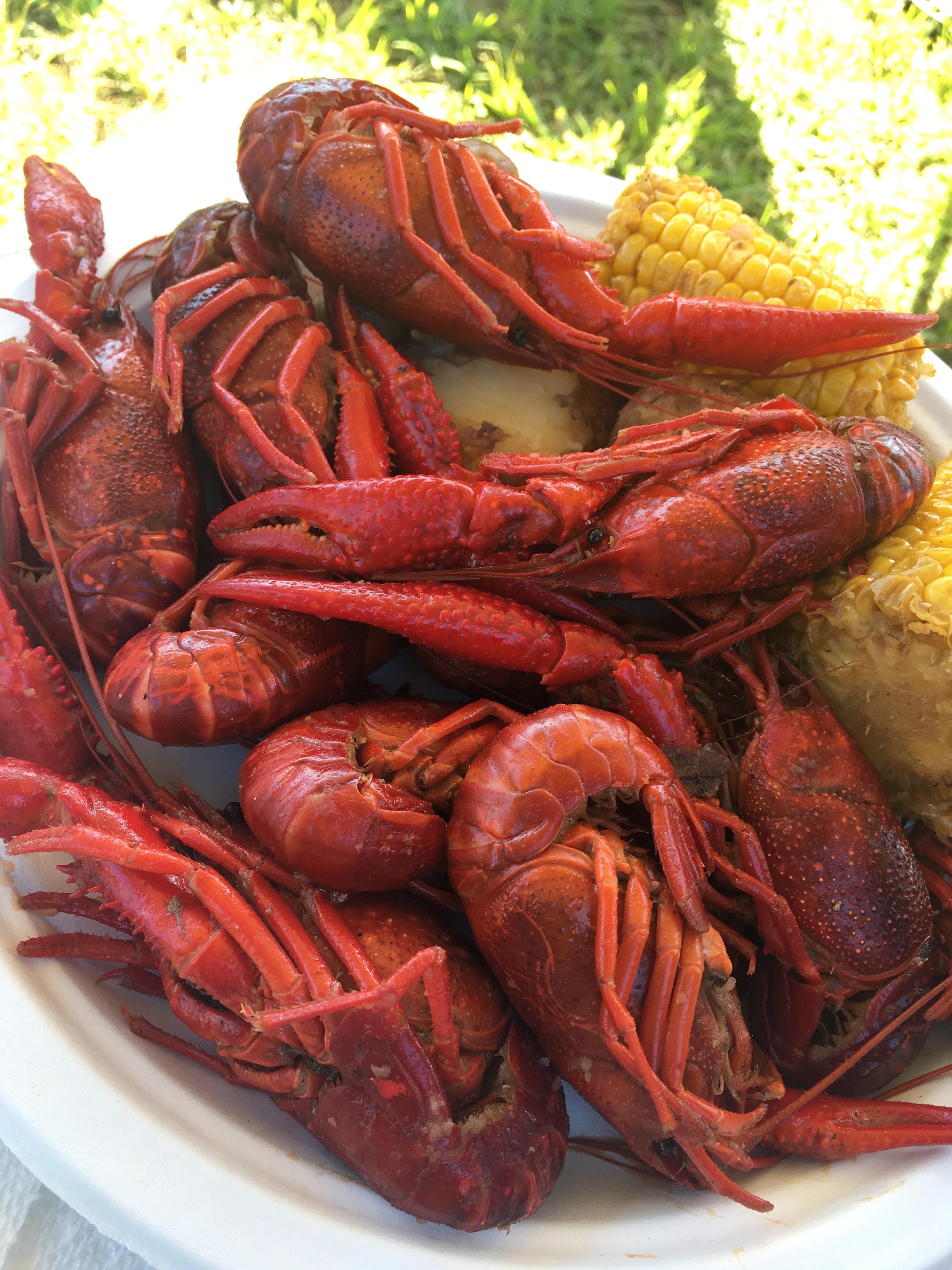 Stephanie Reybitz, ATC, and Lauren Luke, PT enjoyed the 2019 Crawfish Boil Saturday! We love calling Pike Road our home! #EncoreRehab #mypikeroad