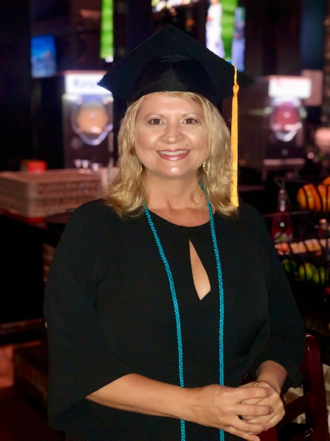 Director of Rehab Tricia Mimbs, LPTA graduated! She works at Encore Rehabilitation-Stone County Hospital Outpatient Rehab Clinic in Wiggins, Mississippi #EncoreRehab