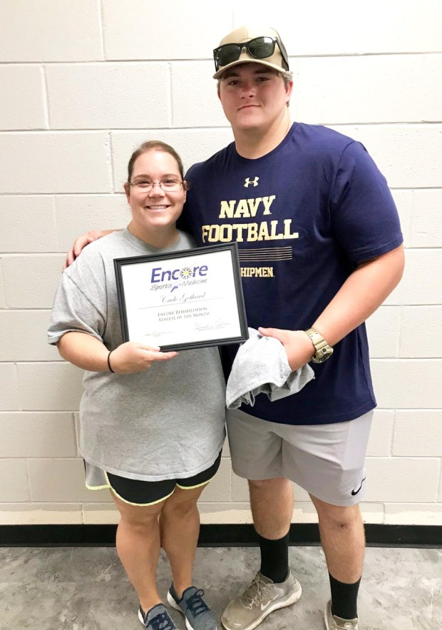 Cade Gothard is Athlete of the Month for Encore Rehabilitation-Eufaula #EncoreRehab