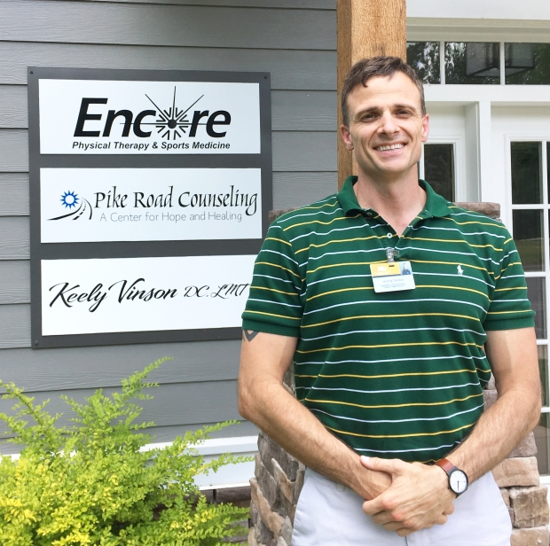 Student Physical Therapist Jeremy Deneve from Alabama State University is performing his final clinical rotation with Encore Rehabilitation-Pike Road #EncoreRehab