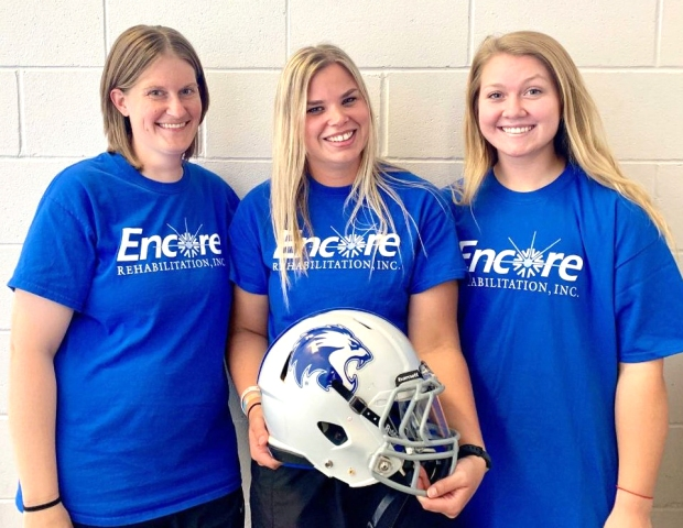 Kerri Reeves ATC Addie Loper ATC Mallory Torkelson ATC Columbus Lions Revised