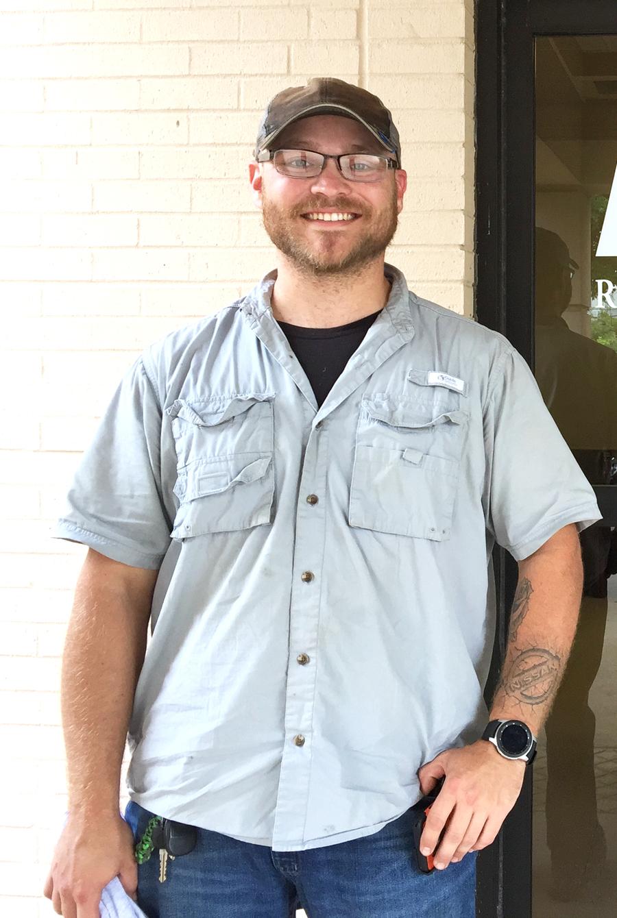 Patrick Higdon is Patient of the Month for Encore Rehabilitation-Enterprise #EncoreRehab