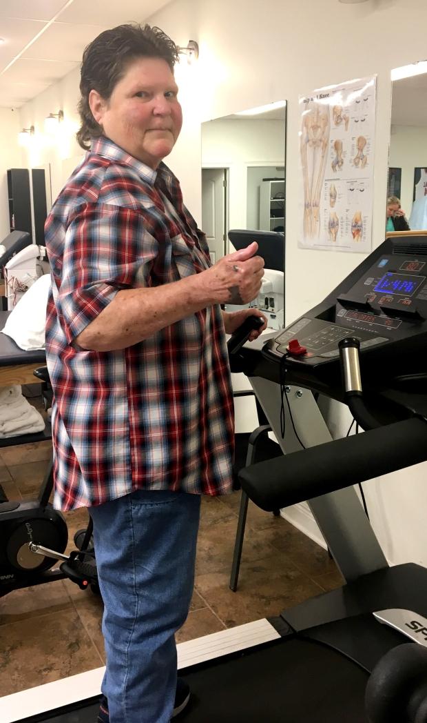 Marltte McMahan-From Wheelchair to Walking with Encore Rehabilitation-Petal #EncoreRehab