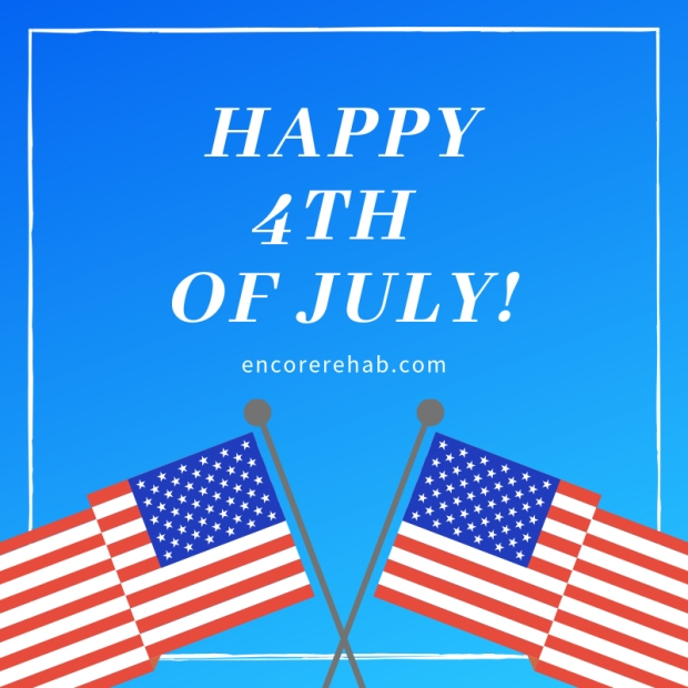 Happy 4th of July from everyone at Encore Rehabilitation, Inc. #EncoreRehab