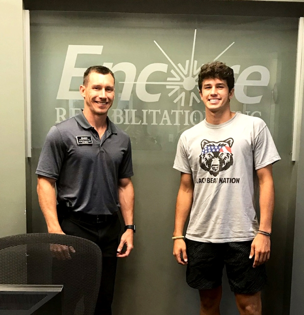 Jackson Breedlove is Athlete of the Month for Encore Rehabilitation-Decatur