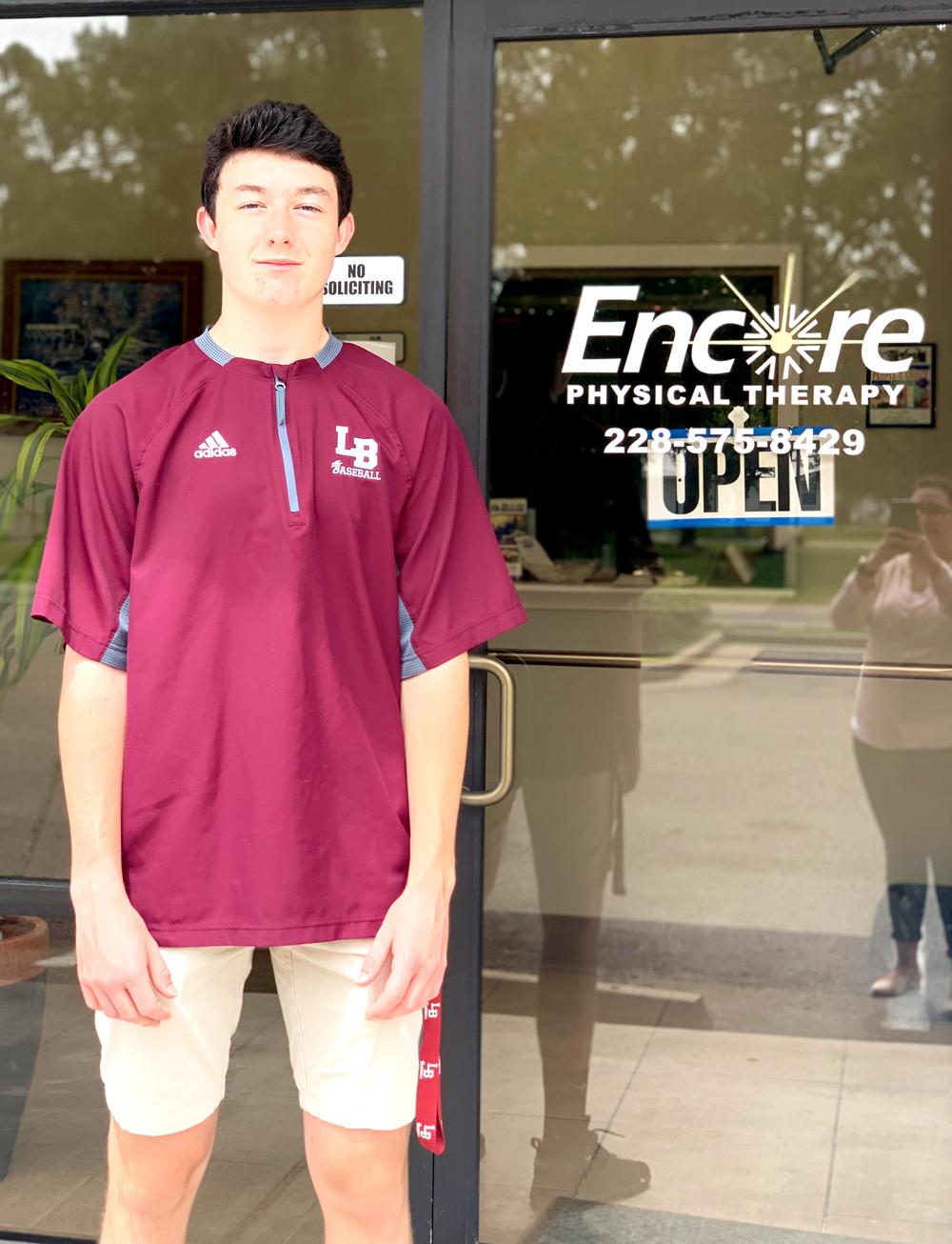 Kyle Parks is Athlete of the Month for Encore Rehabilitation-Long Beach #EncoreRehab