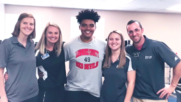 Chandler Stevenson overcomes injuries to return to Football after rehab at Encore Rehabilitation-Moulton #EncoreRehab