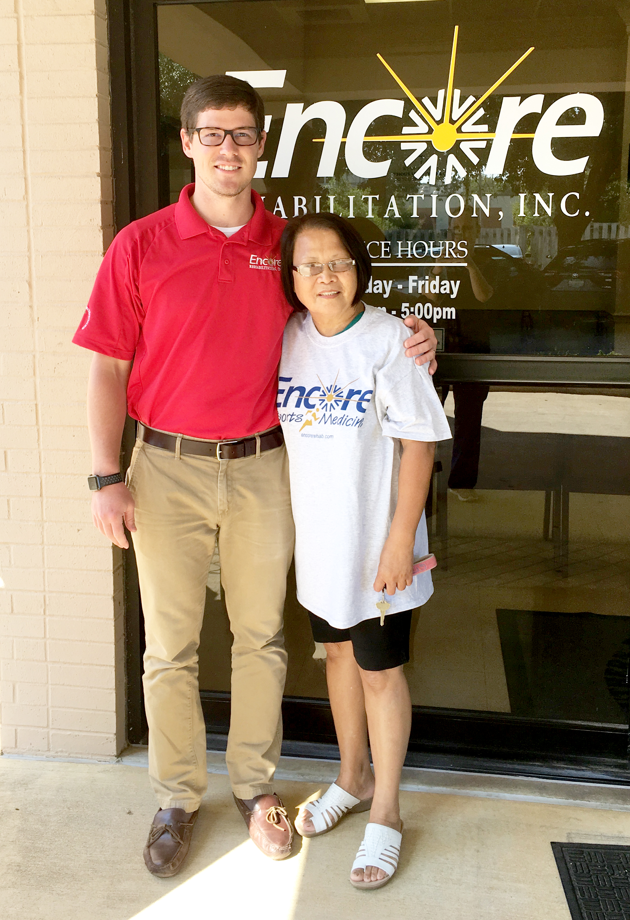 Esther Paine is Patient of the Month for Encore Rehabilitation-Enterprise #EncoreRehab