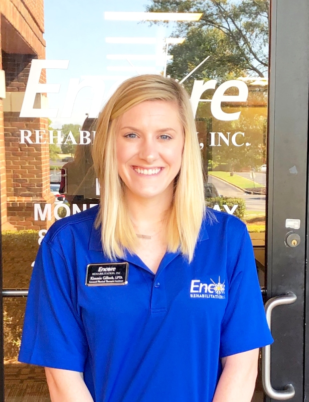 Encore Rehabilitation-Montgomery East is pleased to welcome Physical Therapist Assistant Kimmie Gillock! #EncoreRehab