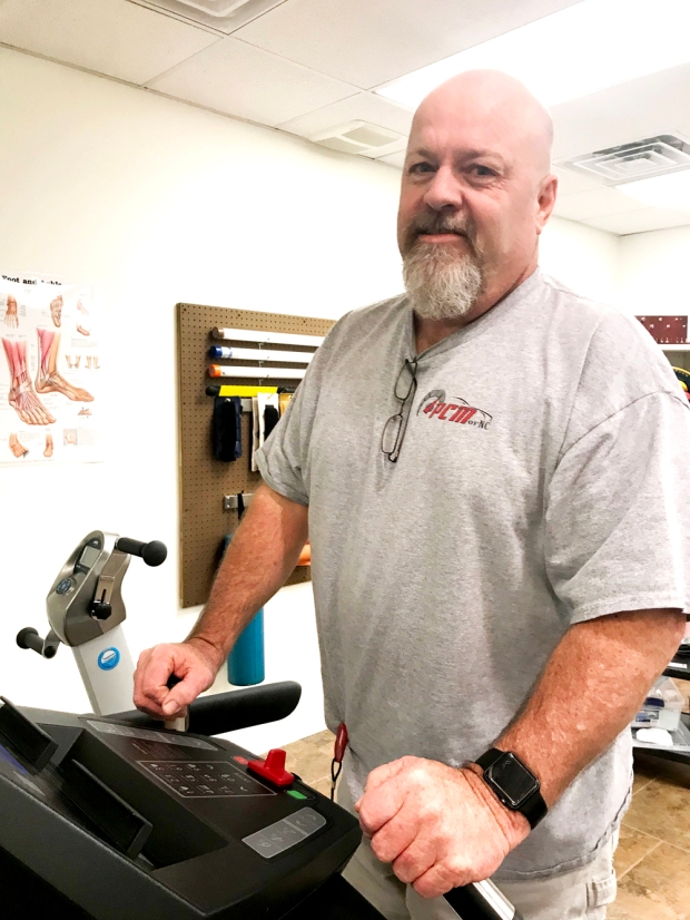 Chuck Russell enjoying successful rehab with Encore Rehabilitation-Petal #EncoreRehab