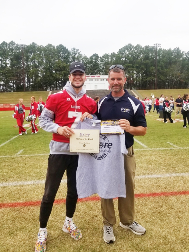 Drew Maddox is Athlete of the Month for Encore Rehabilitation-Cullman #EncoreRehab