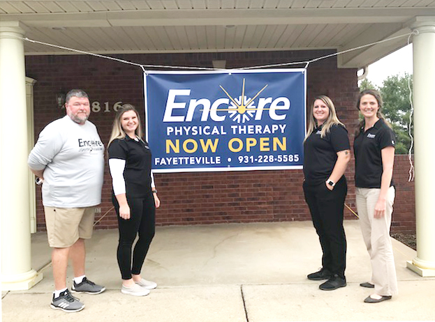 Encore Rehabilitation-Fayetteville, Tennessee is now open! Come see us today! #EncoreRehab