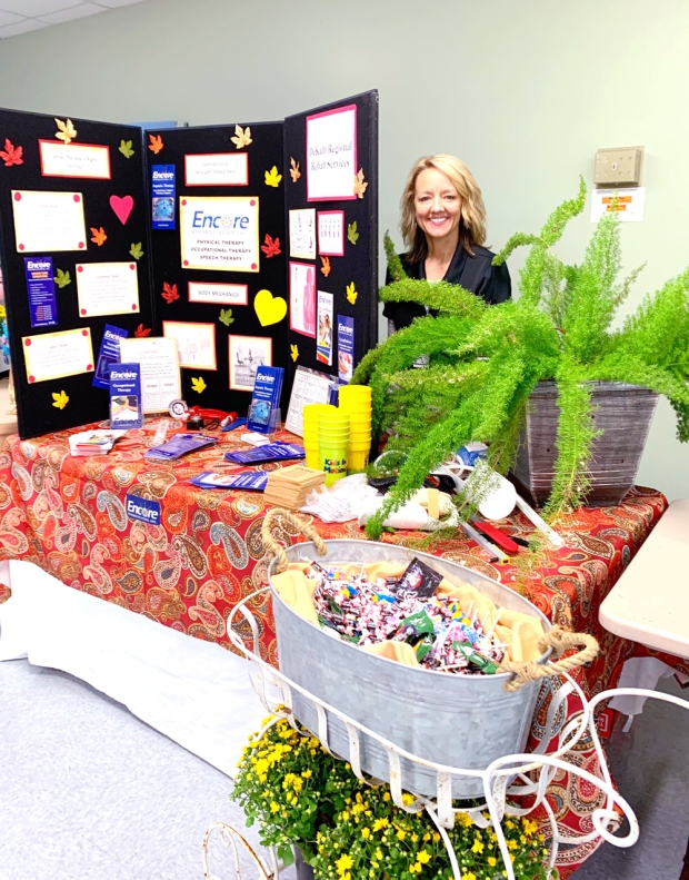 Encore Rehabilitation-Fort Payne was proud to participate in the Council on Aging Health Fair #EncoreRehab