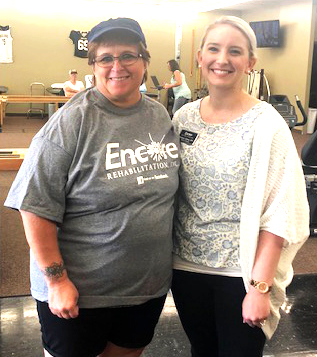 Loretta Chambers is Patient of the Month for Encore Rehabilitation-Russellville