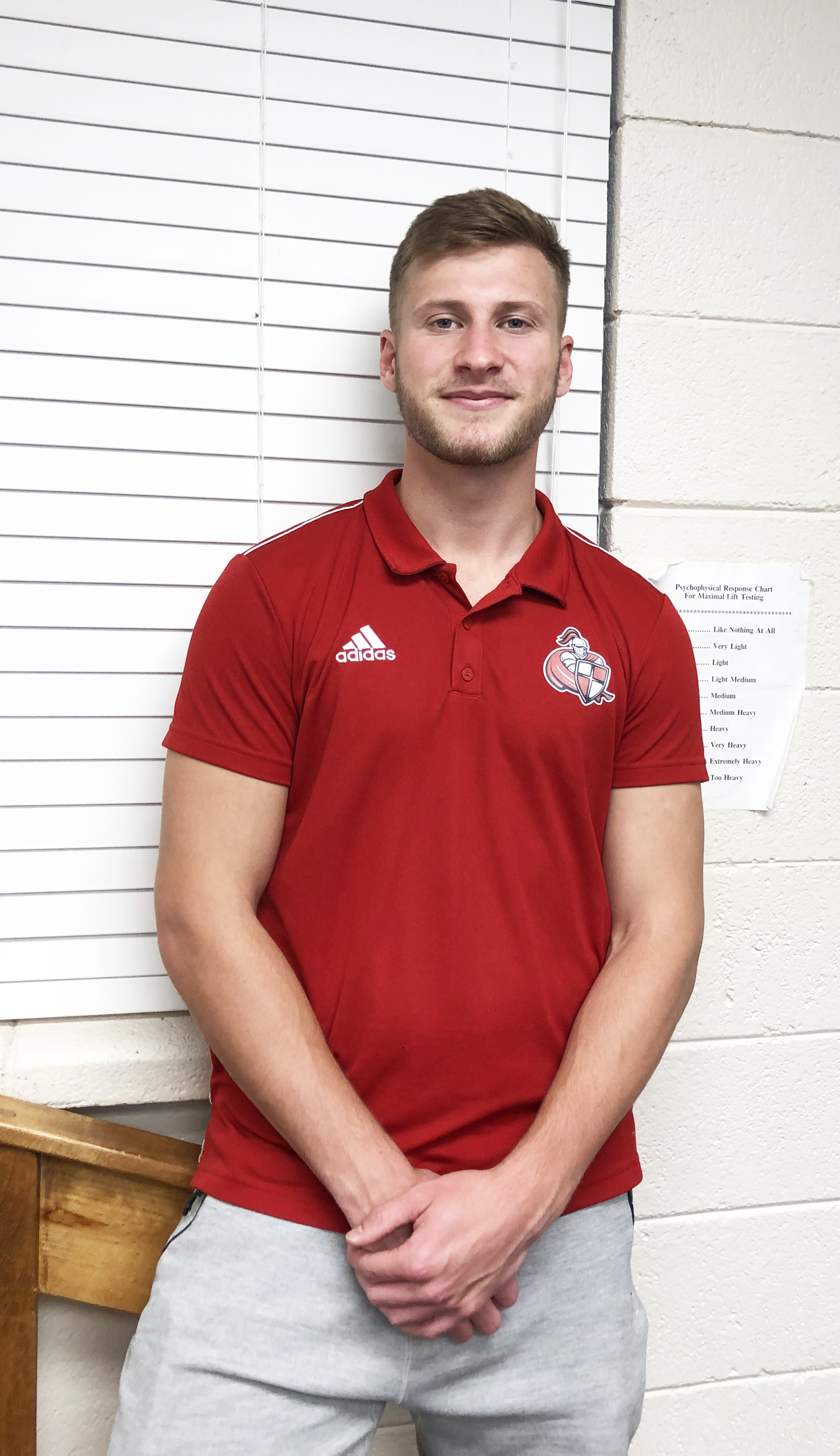 Ben Whalley is Athlete of the Month with #EncoreRehab at William Carey University