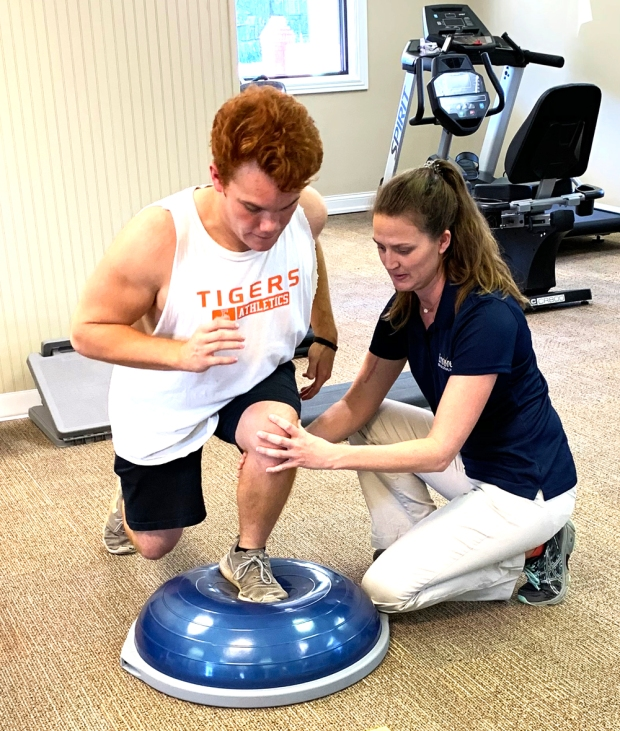 Chase Hernandez is the first patient at #EncoreRehab -Fayetteville