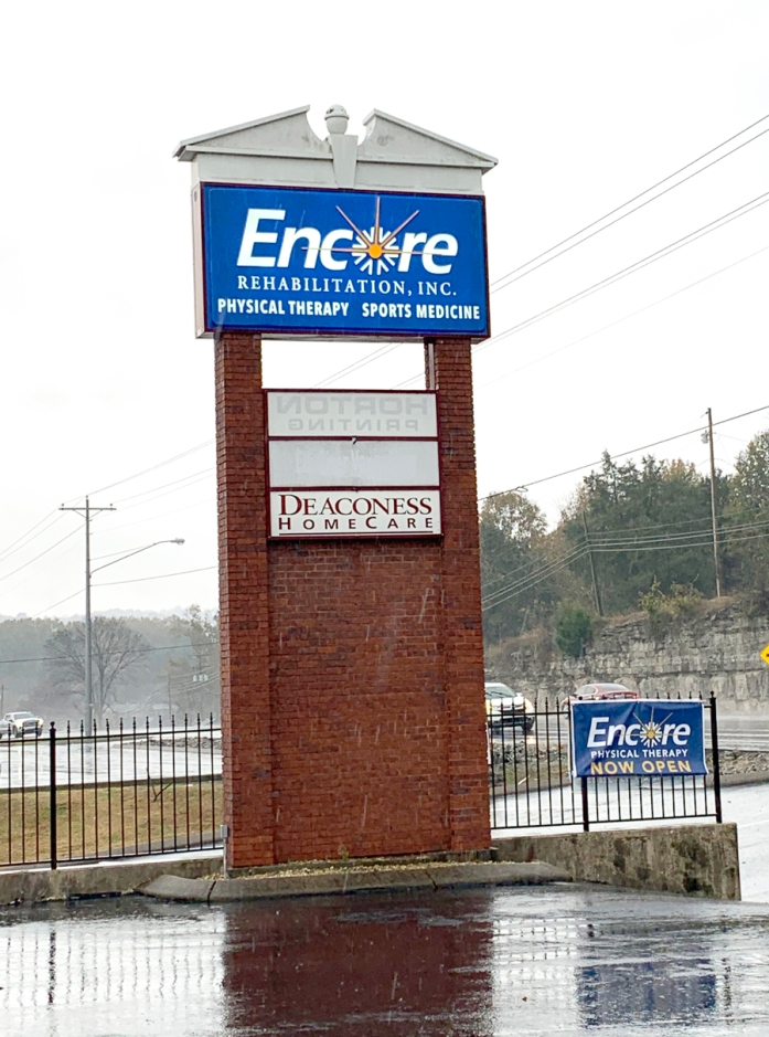 New sign at #EncoreRehab -Fayetteville, TN #weLOVEtoseeyoumove