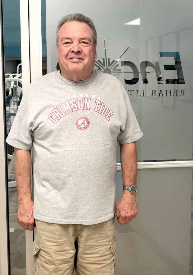 Joe Plyler is Patient of the Month for #EncoreRehab Winfield