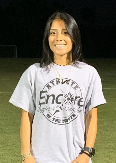 Tereza Figueroa is Athlete of the Month for Encore Rehabilitation-Foley #weLOVEtoseeyoumove