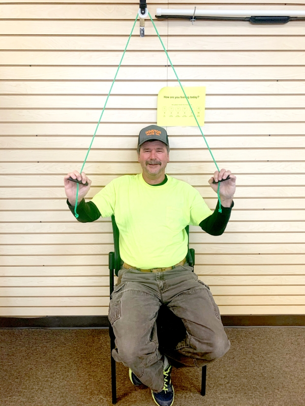Tommy Marshall is Patient of the Month for Encore Rehabilitation-Haleyville