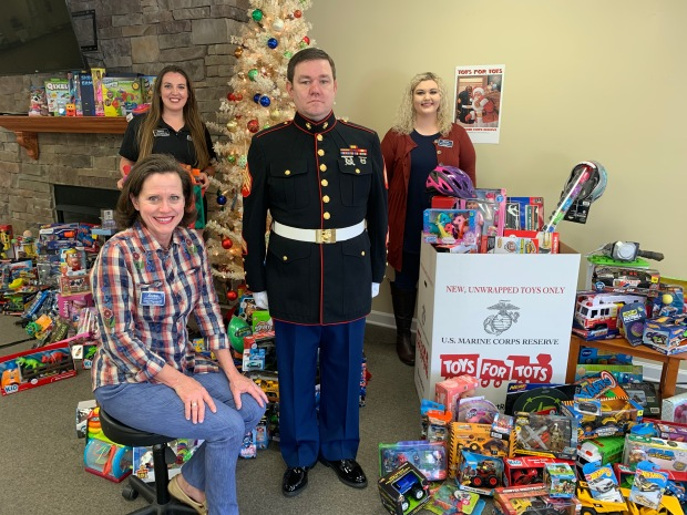 #EncoreRehab Arab is a collection location for Toys for Tots