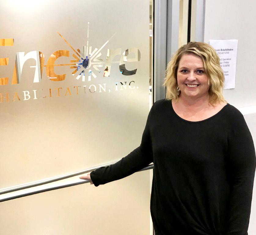 Brandi Markham is Office Manager at #EncoreRehab Winfield