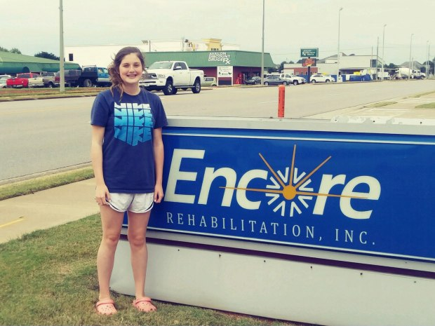 Livi Boston is Athlete of the Month for Encore Rehabilitation-Muscle Shoals #EncoreRehab