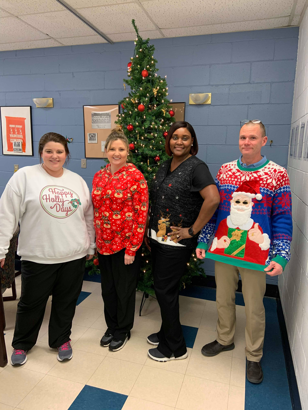 Merry Christmas from #EncoreRehab - Monroeville!