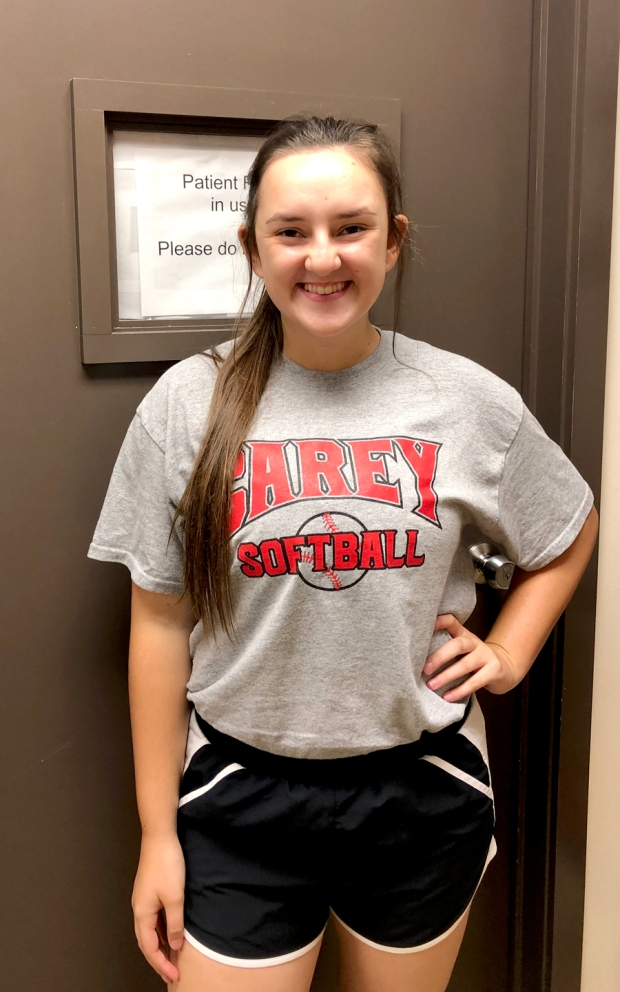 Ryleigh Baker is Athlete of the Month for #EncoreRehab William Carey University