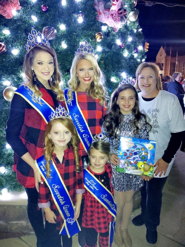 Swedish Queens donated to Circle of Love Toy Drive #EncoreRehab-Clanton