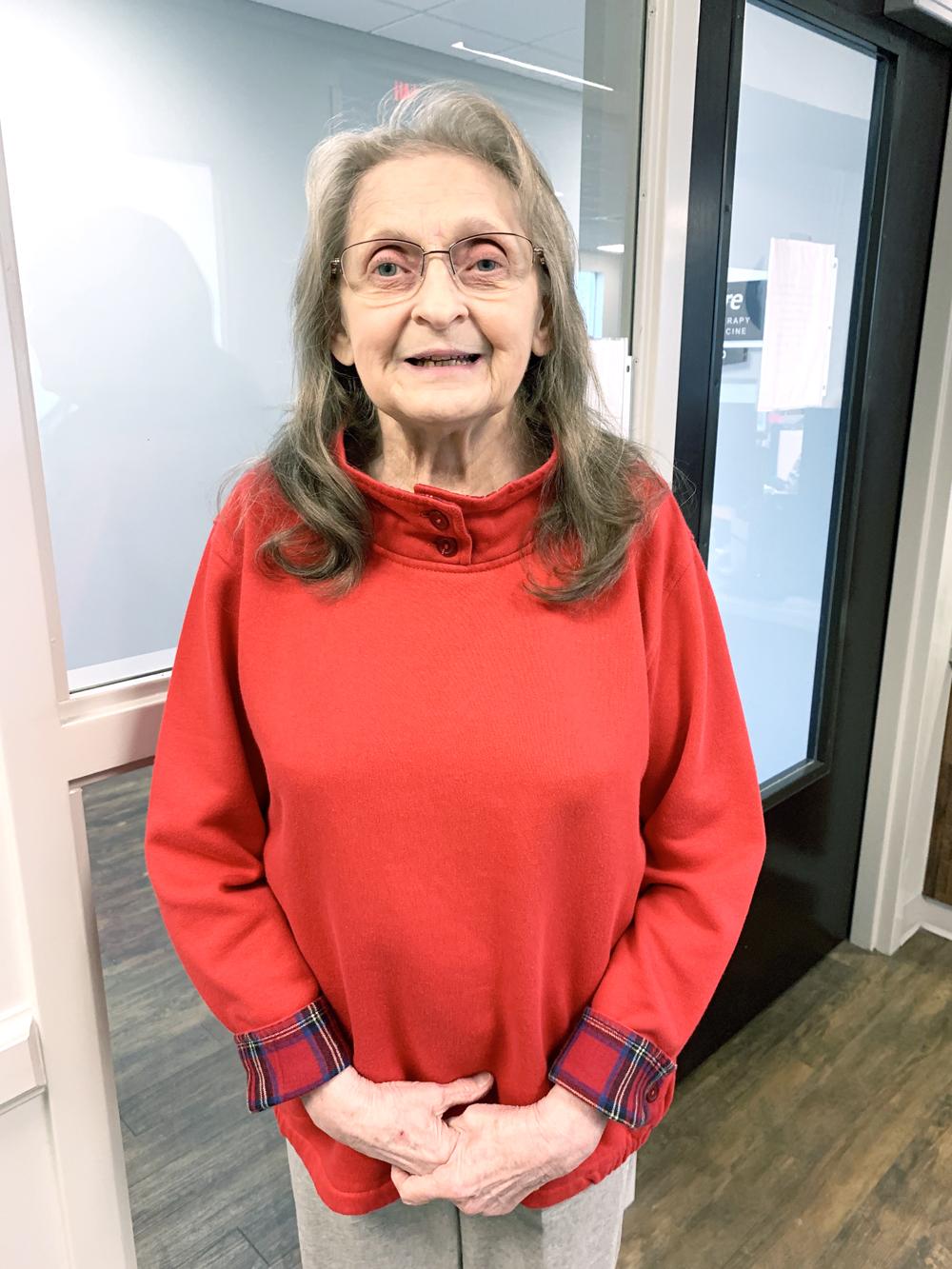 Carol Snarski is Patient of the Month for #EncoreRehab Foley #weLOVEtoseeyoumove