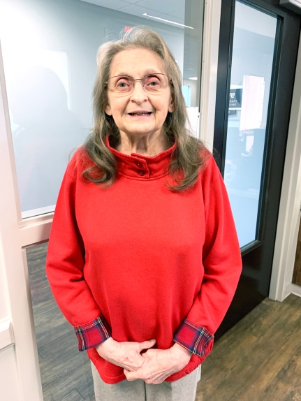 Carol Snarski is Patient of the Month for #EncoreRehab Foley #weLOVEtoseeyoumove