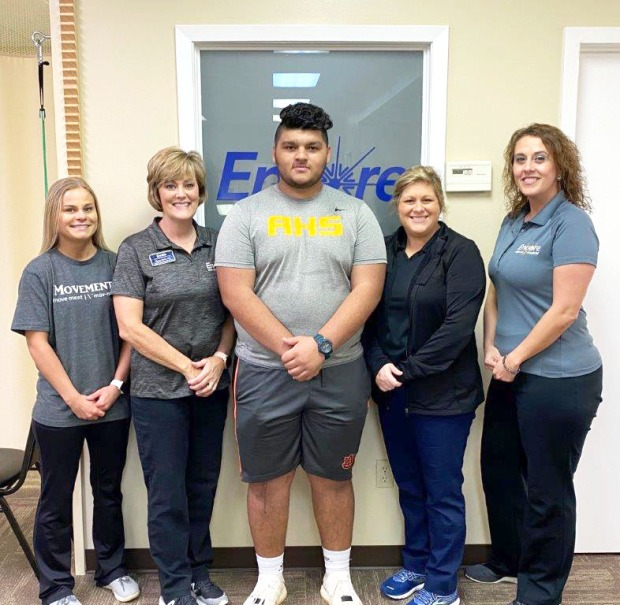 Jacob Barragan is Athlete of the Month for #EncoreRehab Ozark